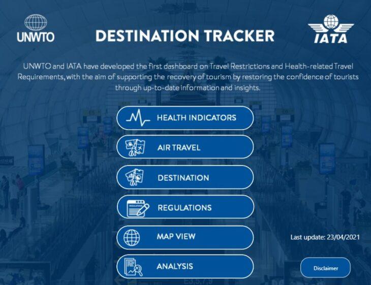 Destination Tracker Mexico